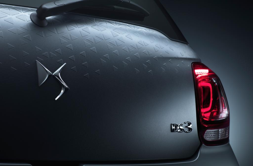 The 3D Skin can be found all-around the exterior of the car. Image via DS Automobiles.