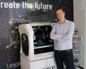 Sander Adam, CEO of Leapfrog 3D Printers