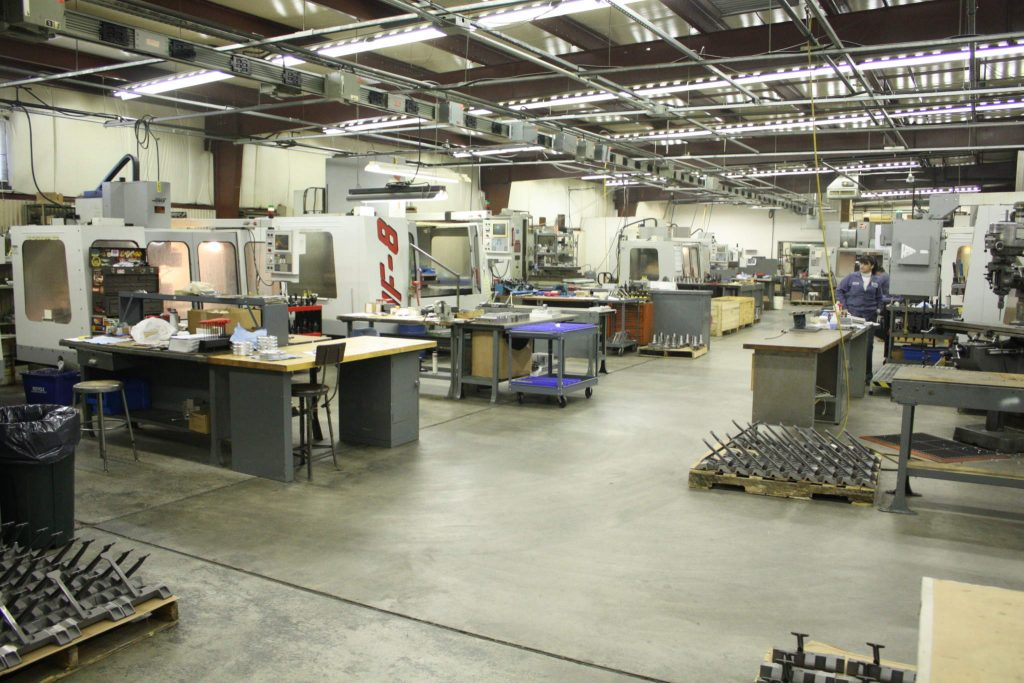Haas CNC Machining Centers, part of Imperial's traditional manufacturing fleet.