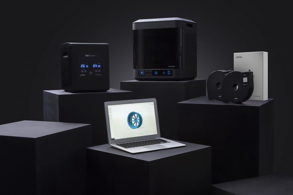 The Zortrax Inventure 3D printing Ecosystem.