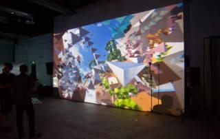 Marpi Studios Mass Migrations interactive installation. Photo via Marpi Studios