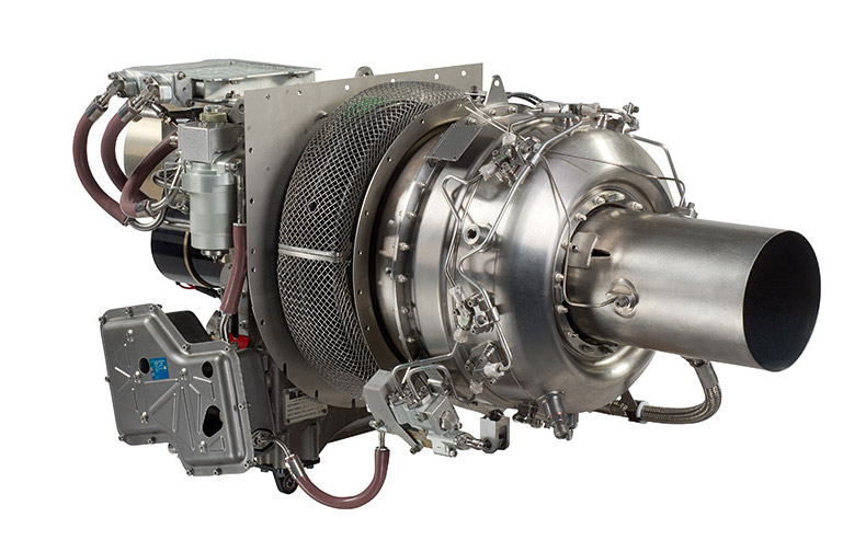 Safran's eAPU60 turbine/ Photo by Microturbo/P. Barthe/D. Taillefer