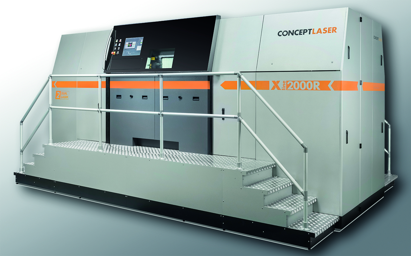 The Concept Laser XLine 2000R machine. Image via Concept Laser.
