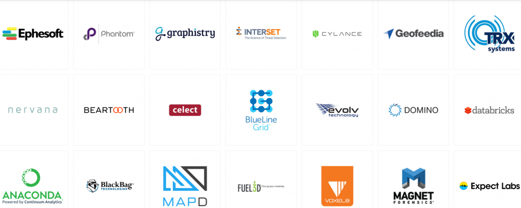 A small sample of other companies in the IQT portfolio.