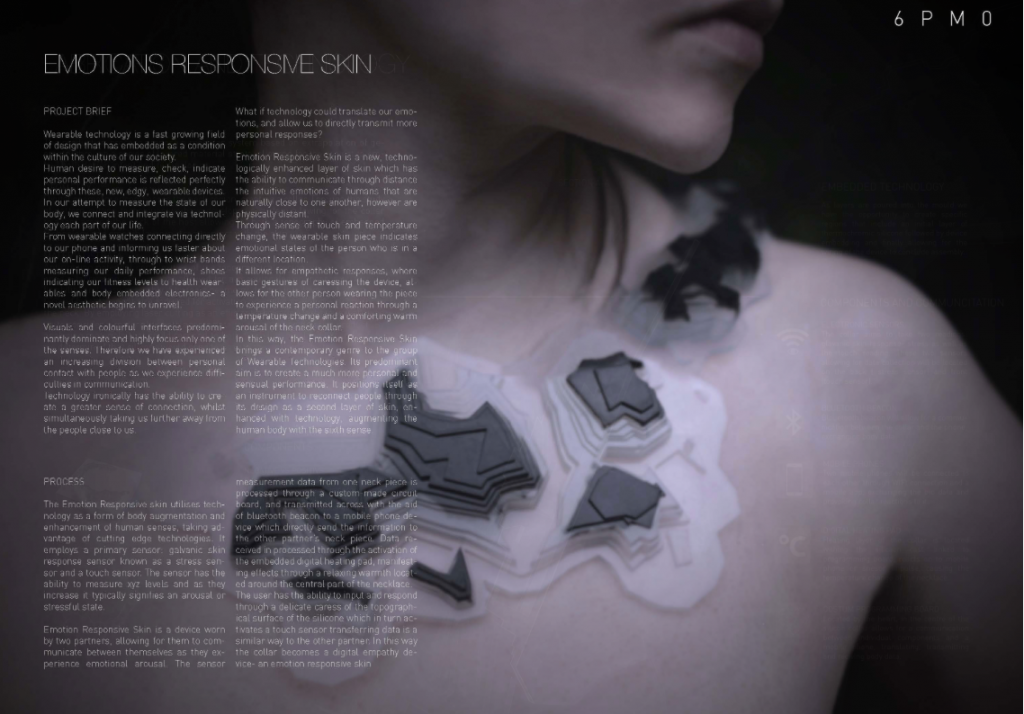 Emotions Responsive Skin by Liv Pearson. Image via youreshape.io, previous entries.