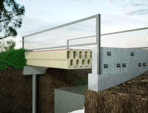 Royal BAM Group use 3D printer to make concrete bicycle bridge with TU Eindhoven