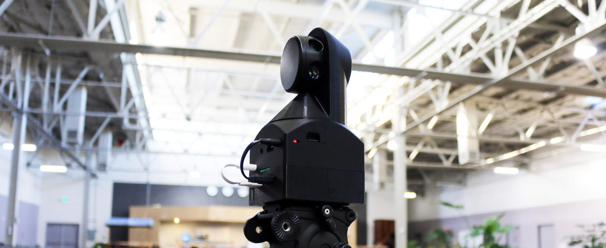 The Sweep DIY LiDAR 3D scanning add on. Photo via Scanse.