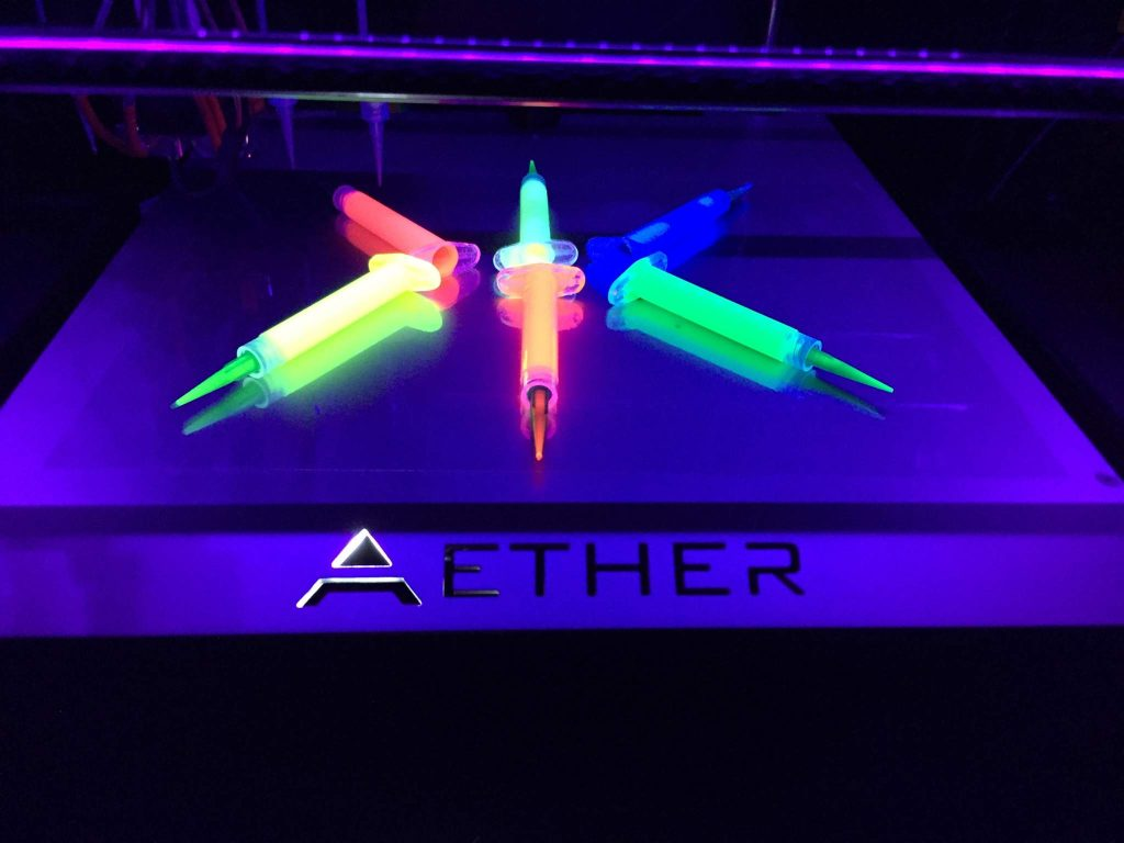 Aether bioinks.