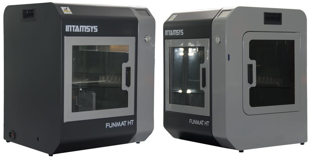Left and right side views of the FUNMAT HT. Photos via INTAMSYS.