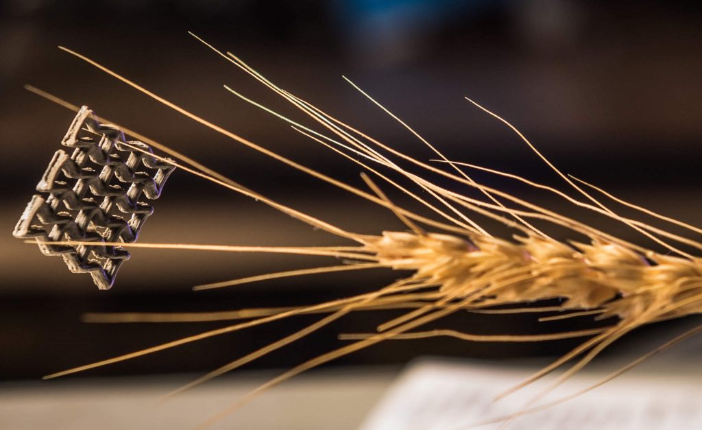 It's official, 3D printed graphene aerogel is the lightest