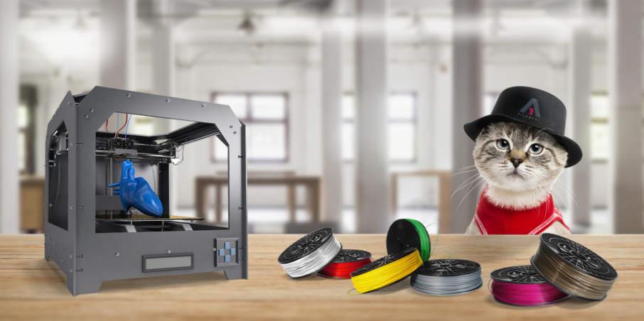 A1 Filament's 3D printing filament on Kickstarter. Image via A1 Filament.