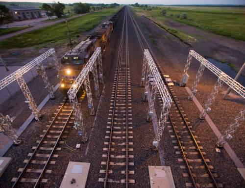 Union Pacific 3D printing for railroad machine vision technology