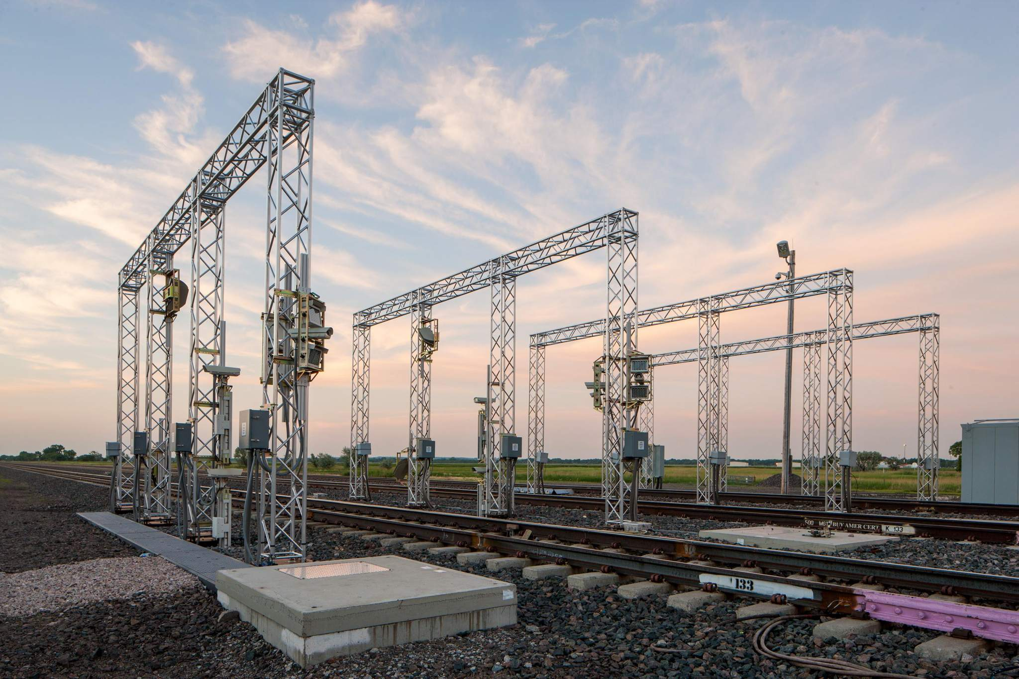 The Machine Vision imaging area. Photo via Union Pacific.