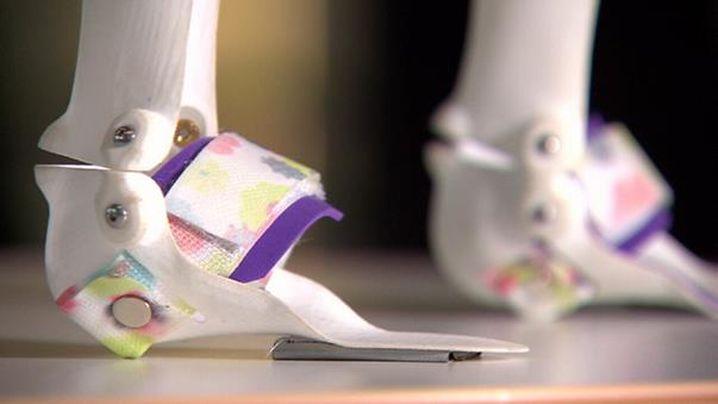 Eve Darcy's Magic Shoes. Image via 9News.