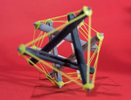 Research uses 3D printer to create shape-shifting tensegrity structures