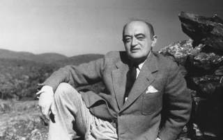 Featured image shows Joseph Schumpeter who in 1942 wrote about creative destruction, arguably a forerunner of Christensen's disruptive innovation.