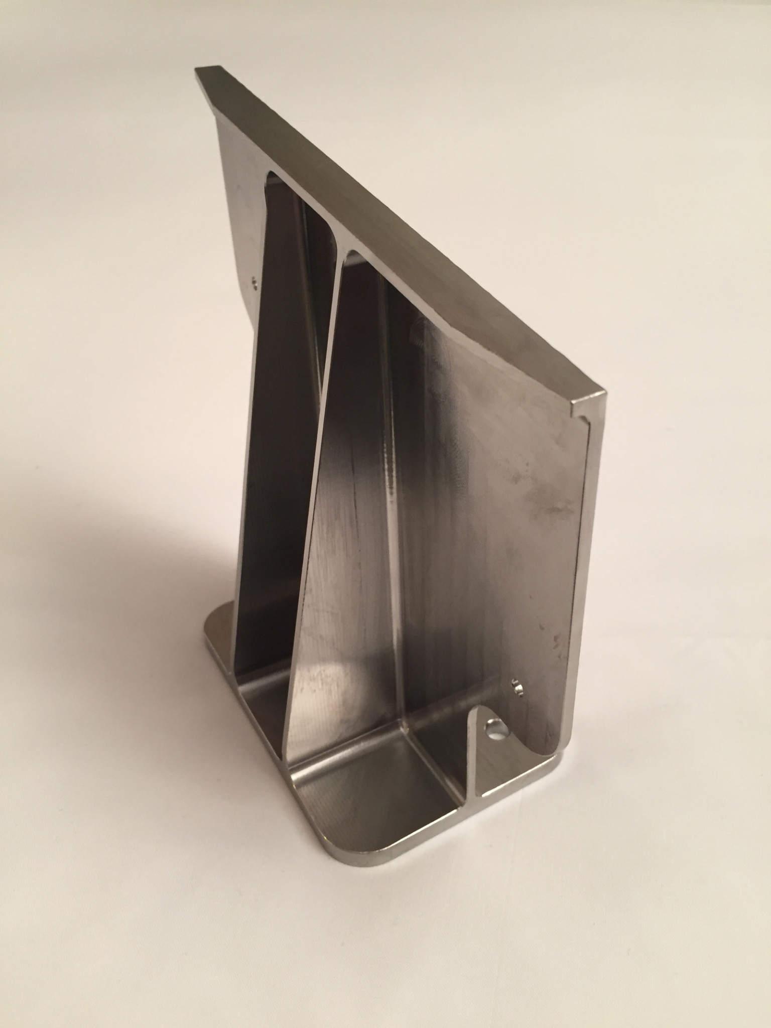 One of Norsk Titanium's 3D printed parts. Image via PRNewsfoto/Spirit AeroSystems Inc.