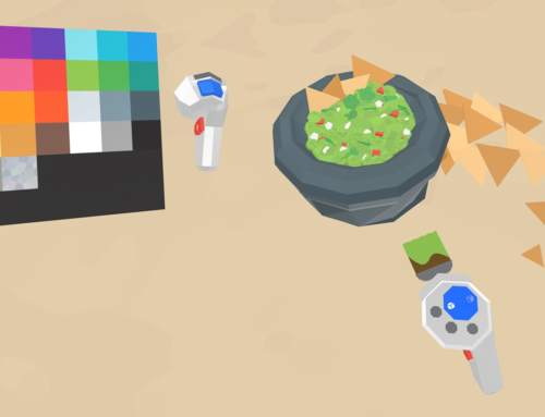 Google releases virtual reality 3D modelling software: Google Blocks