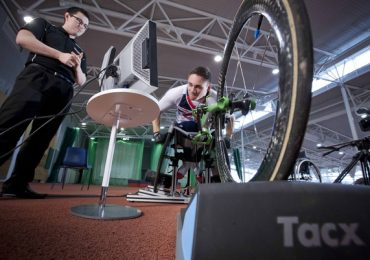 Paralympic athletes testing the WATT system. Image via onEdition.