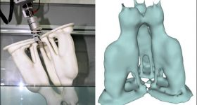 The water dipping 3D scanning method. Image via ACM SIGGRAPH 2017.