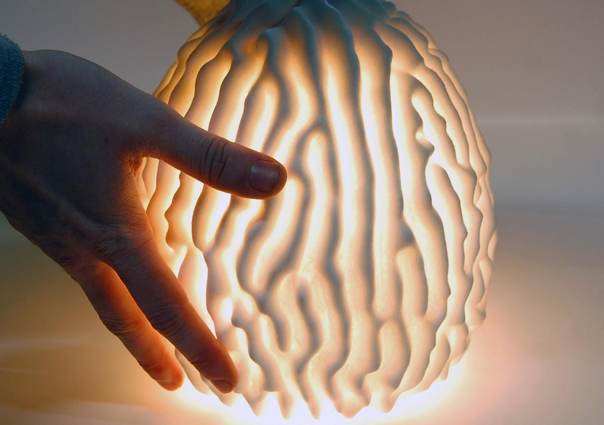 The Salt Coral lamp by CONCR3DE. Image via 3DPC.