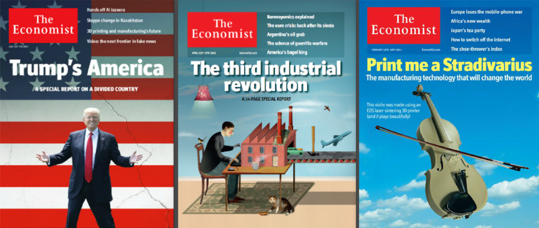 the economist takes a look at 3d printing 3d printing