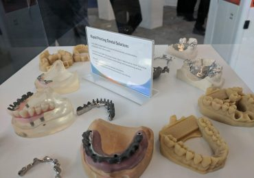 3D Systems Rapid Printing Dental Solutions. Photo by Michael Petch.