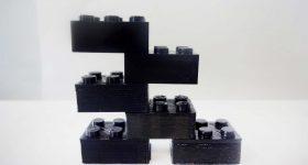 3D printed lego blocks of varying degrees of quality. Image via Joshua Pearce.