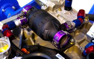 The Conflux Technology Additive Manufactured Conflux CoreTM Heat Exchanger.