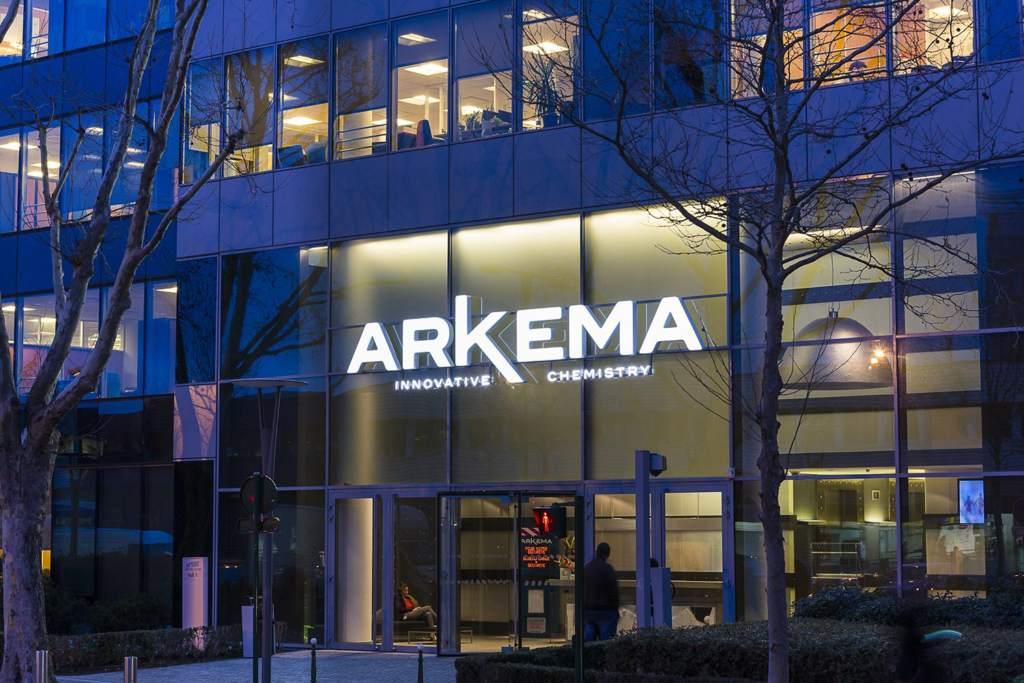Arkema's headquarters in Colombes, France. Image via Arkema.
