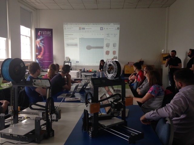 3D printing workshops at the Nerve Centre.