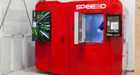 The LightSPEE3D metal 3D printer. Image via SPEE3D.