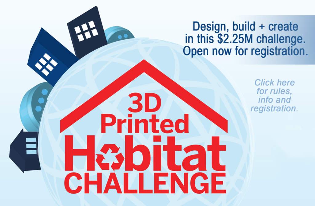 NASA's 3D printed habitat challenge