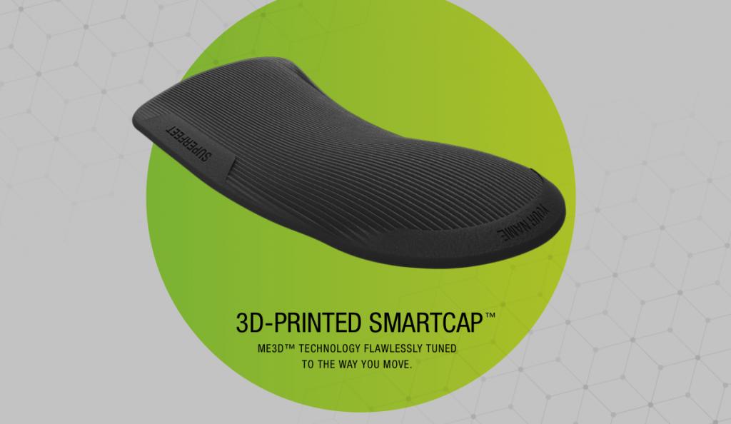Superfeet's 3D printed ME3D insole. Image via Superfeet.