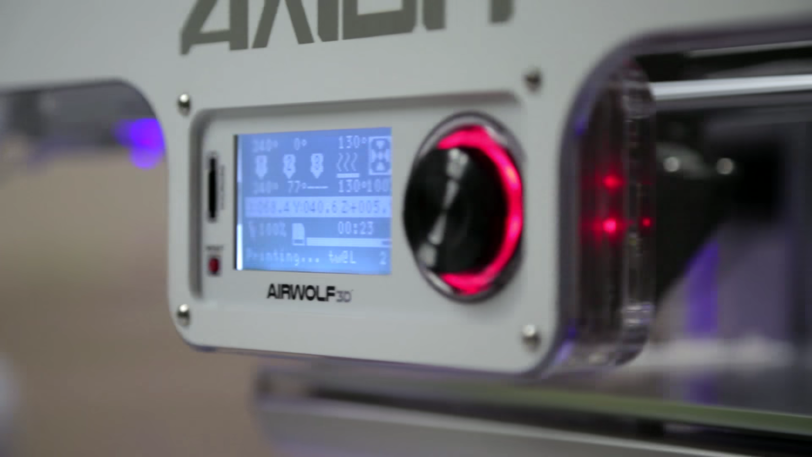 Airwolf Axiom 3D printer used by Service King. Image via Blackstone.