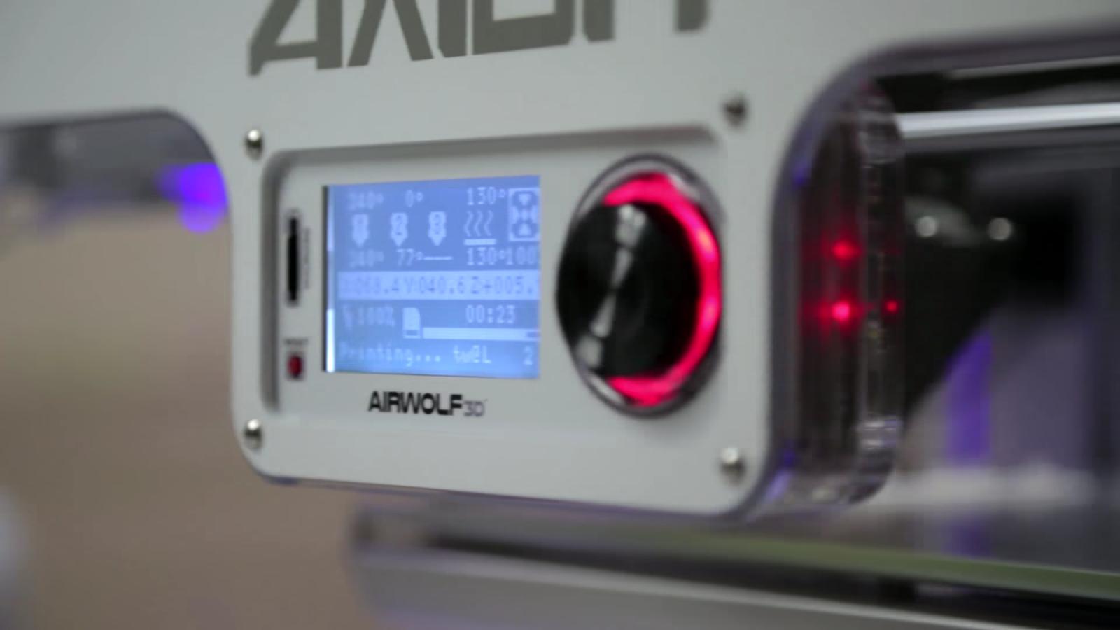 Airwolf Axiom 3D printer used by Service King. Image via Blackstone.