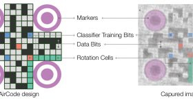 Figure 9 from the paper demonstrates how the embedded air pockets resemble QR codes.