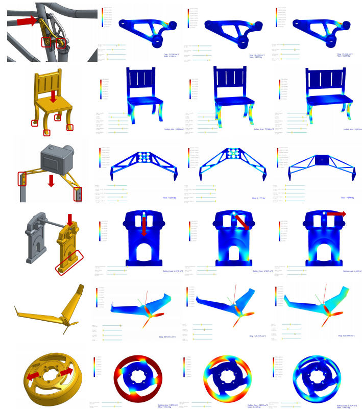 Figure 20 from the paper shows objects designed redesigned in the InstantCAD software. Image via ACM Transactions on Graphics.