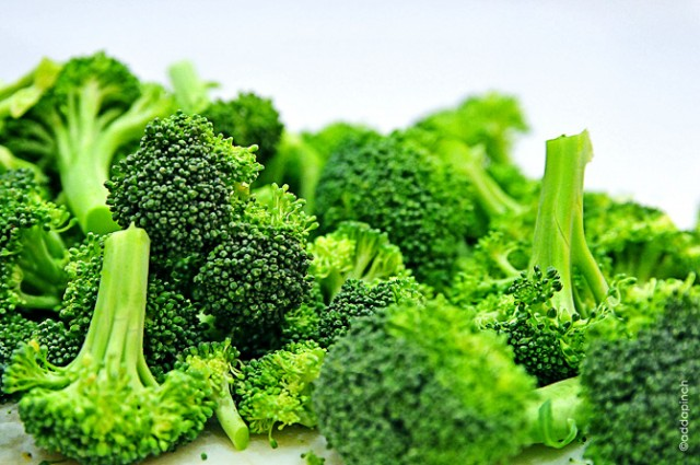 Eat your greens - broccoli is the secret ingredient in the University of Parma's hydrogel. Photo via addapinch.com