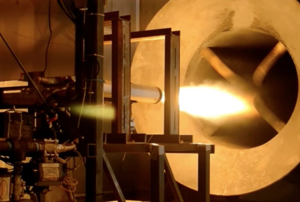 Rocket Crafters testing its thrust engines. Image via Rocket Crafters.