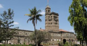 CoEP is part of the University of Pune, India. Photo of the main university building via College Search