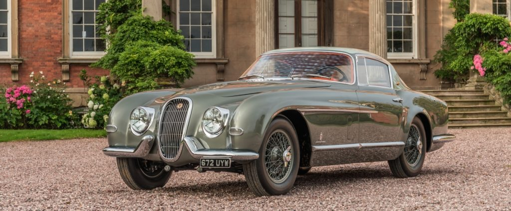 The one of a kind Jaguar XK120 SE restored to its former glory. Photo via Classic Motor Cars, UK