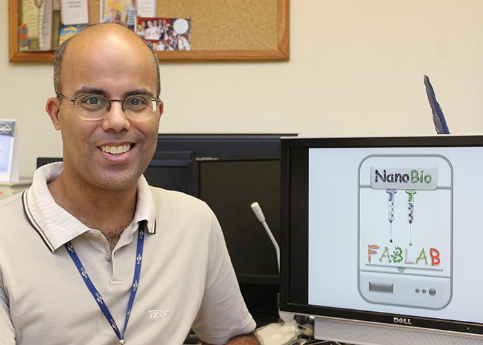 Dr. Luciano Paulino Silva will be leading the research at Embrapa Genetic Resources and Biotechnology's Laboratory of Nanobiotechnology (LNANO) Photo via Embrapa