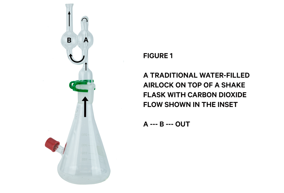 Traditional flask for small-batch winemaking. Image via Carbon