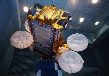 The commercial Eutelstat KA-SAT broadband satellite manufactured by Airbus Defence and Space. Photo via EADS Astrium