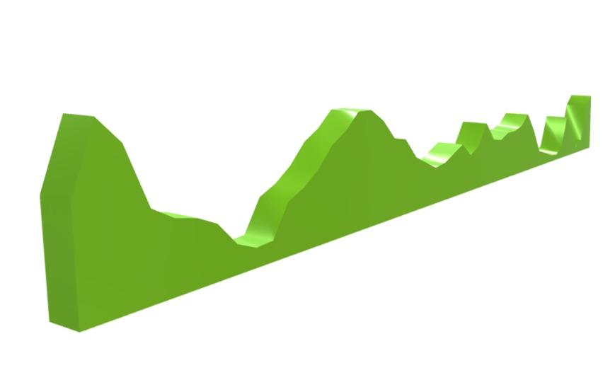 Custom linear route design. Image via PrintMyRoute