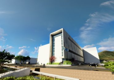 Digital render of the forthcoming Lockeed Martin Gateway Center. Image via: Lockheed Martin)