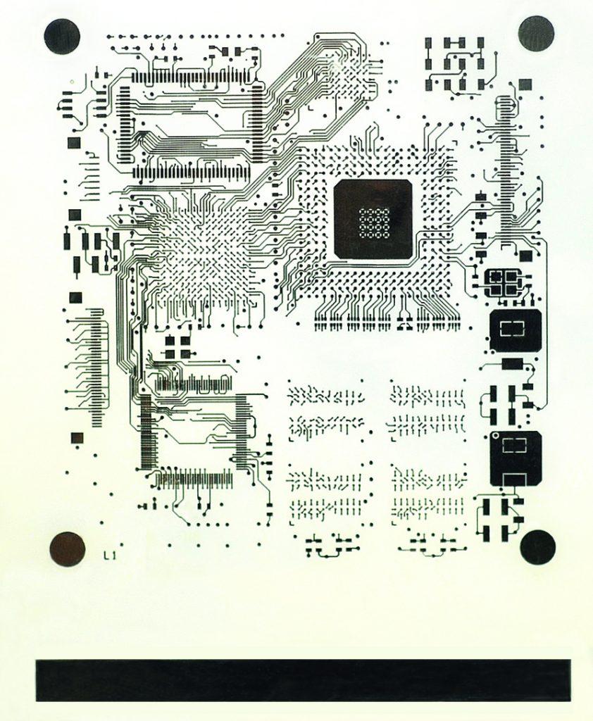 PCB Design Layer. Image via Nano Dimension