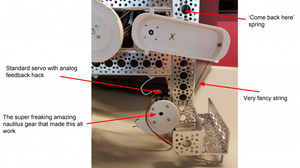 Some of the 3D printed components of the SparkFun Safe Cracking Robot. Image via SparkFun.