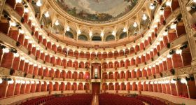 View inside the Teatro dell'Opera di Roma. Photo by Silvia Lelli